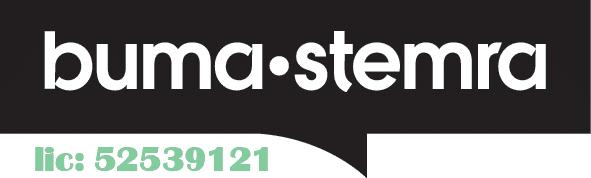 logo BUMA met licentie